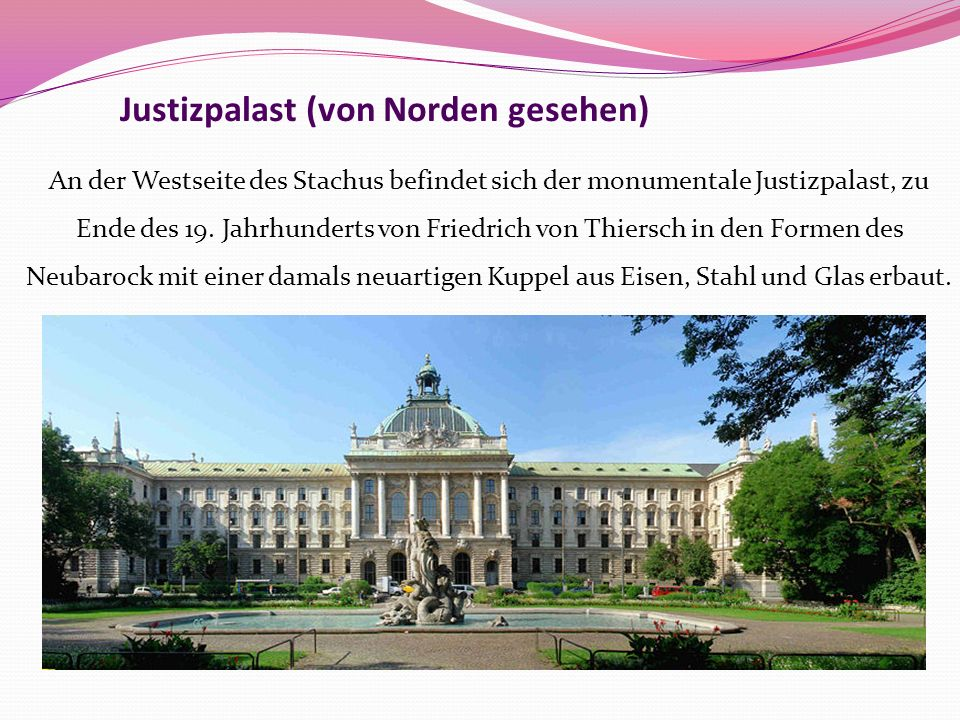 Justizpalast (von Norden gesehen)