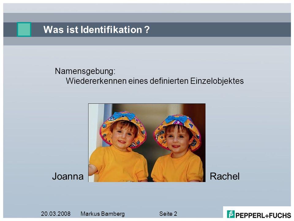 Was ist Identifikation