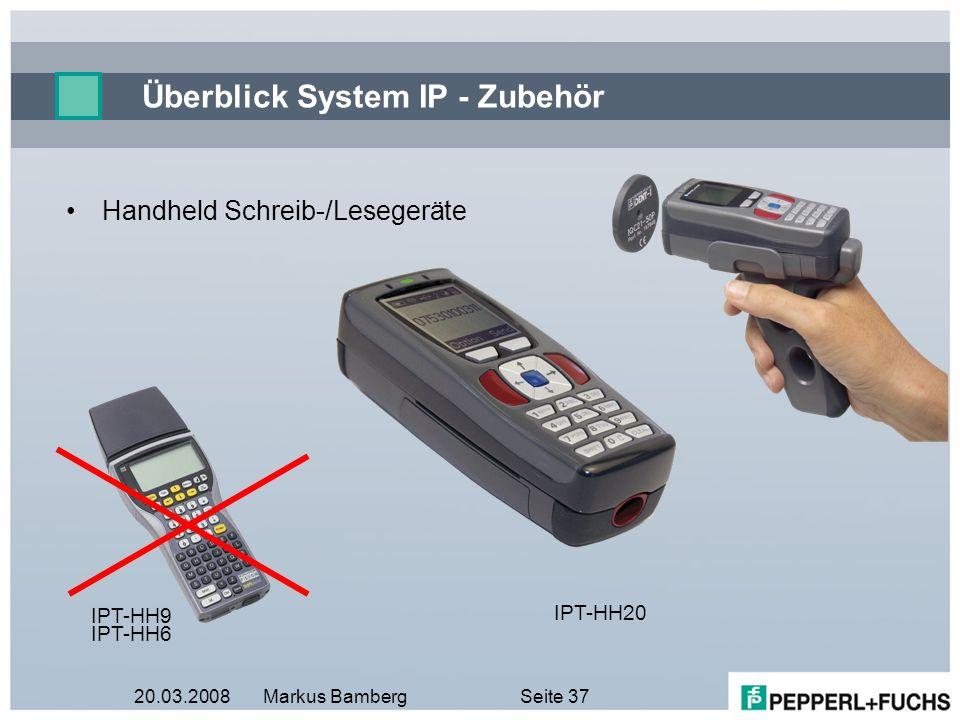 Überblick System IP - Zubehör
