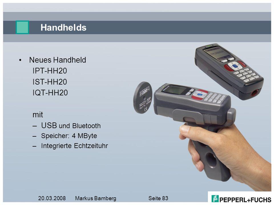 Handhelds Neues Handheld IPT-HH20 IST-HH20 IQT-HH20 mit