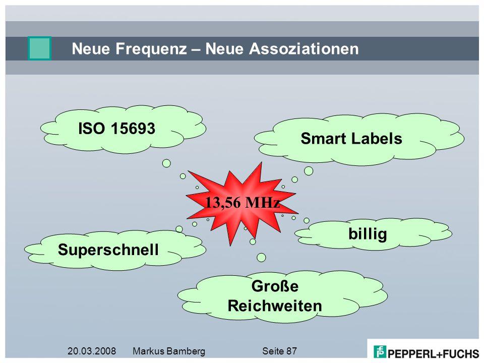 Neue Frequenz – Neue Assoziationen