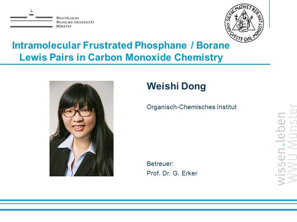 Intramolecular Frustrated Phosphane / Borane Lewis Pairs in Carbon Monoxide Chemistry