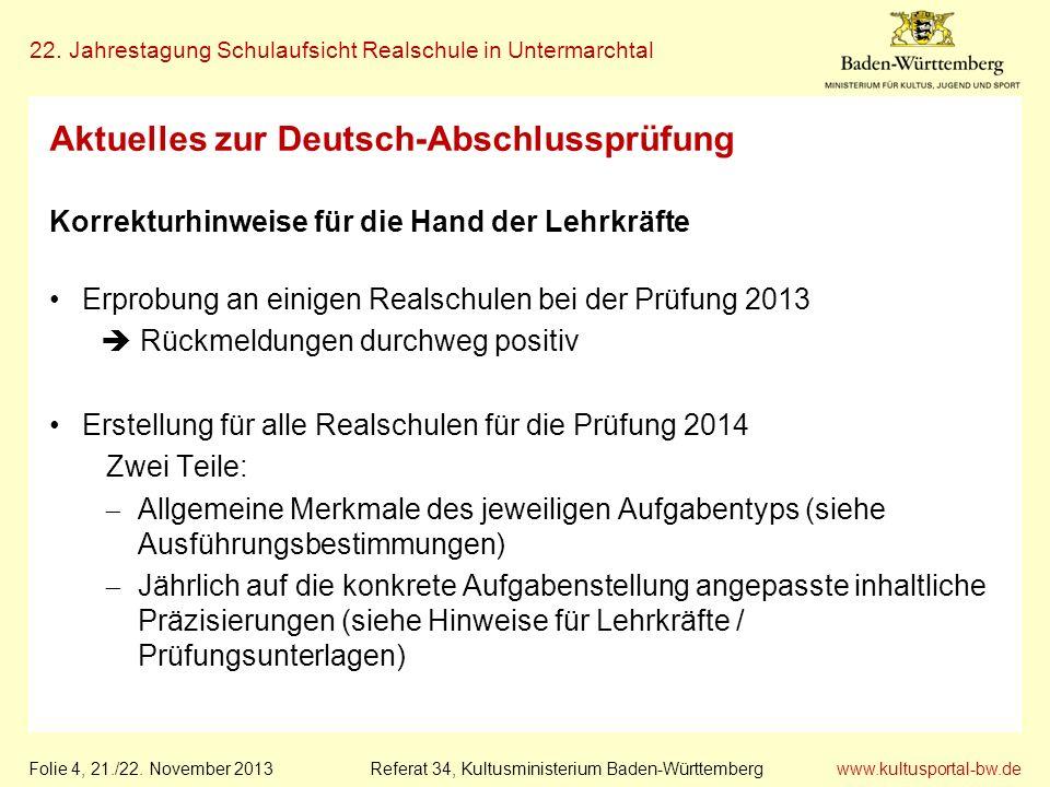 Aktuelles zur Deutsch-Abschlussprüfung