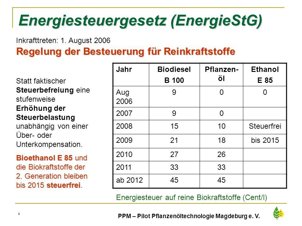 Energiesteuergesetz (EnergieStG)