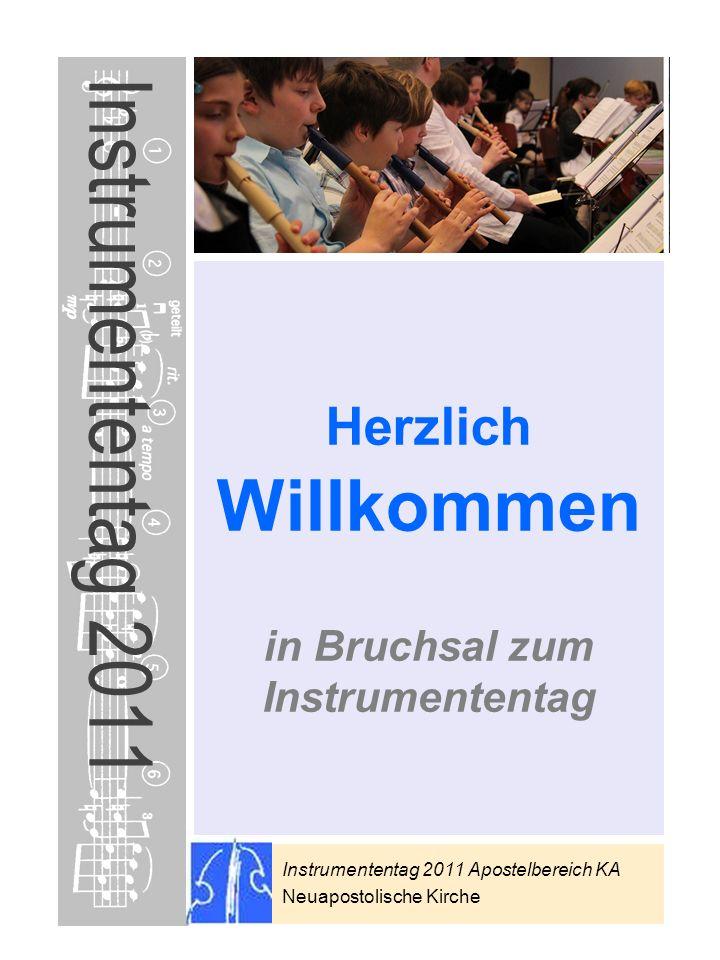 in Bruchsal zum Instrumententag