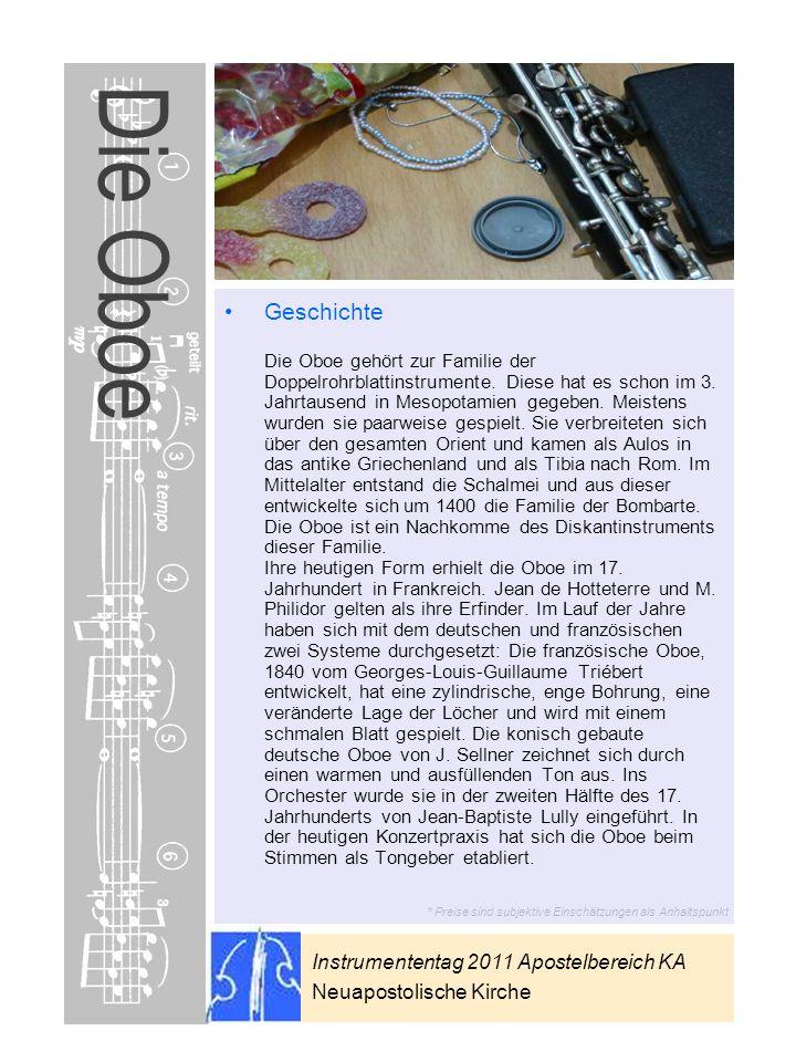Die Oboe