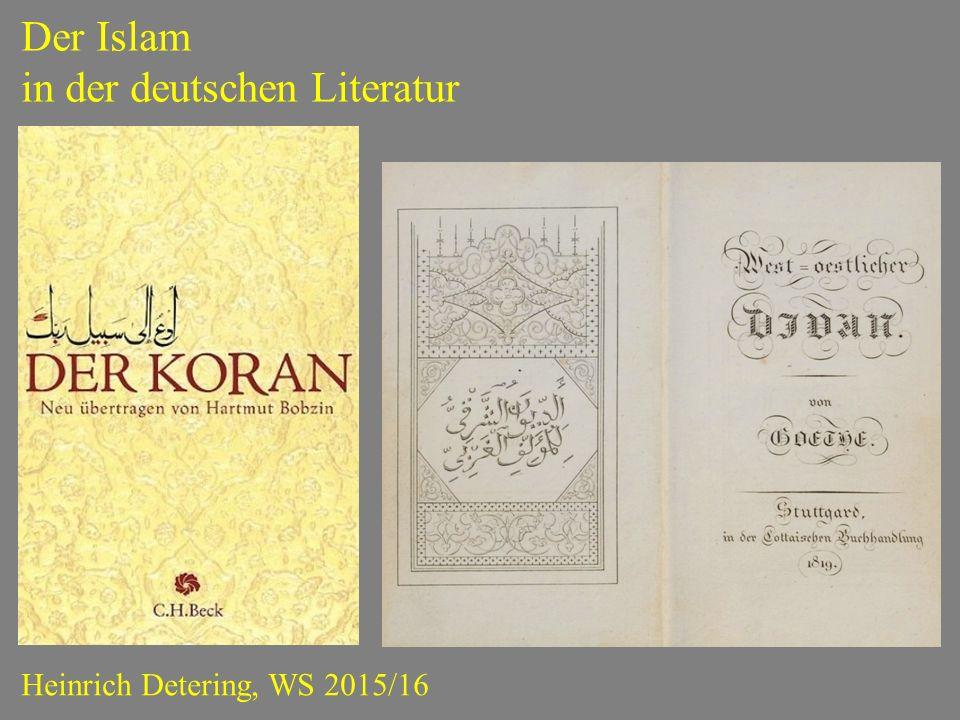 in der deutschen Literatur