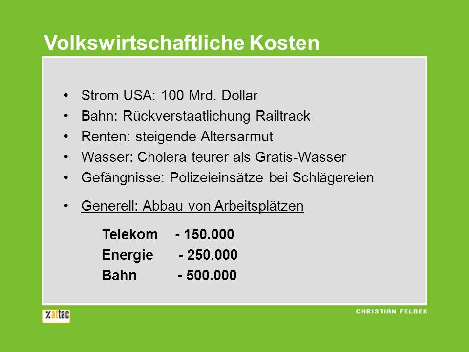 Volkswirtschaftliche Kosten