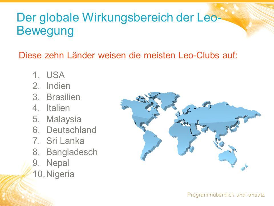 Der globale Wirkungsbereich der Leo- Bewegung