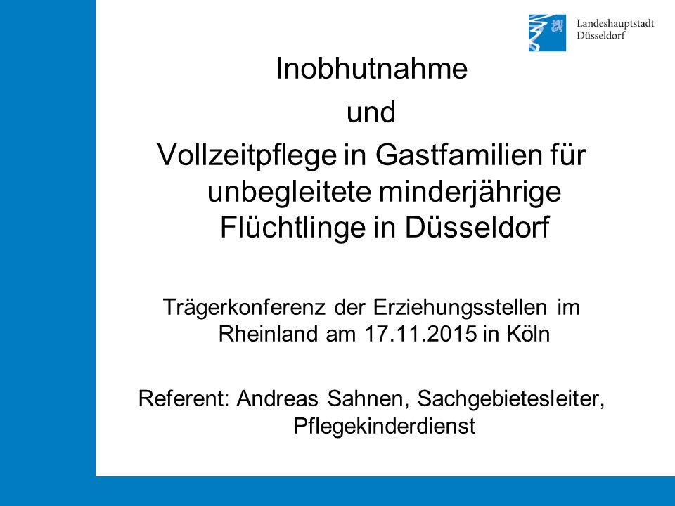 Referent: Andreas Sahnen, Sachgebietesleiter, Pflegekinderdienst