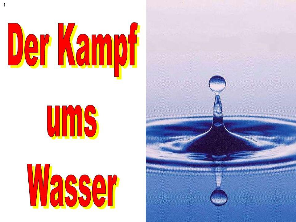 Der Kampf ums Wasser