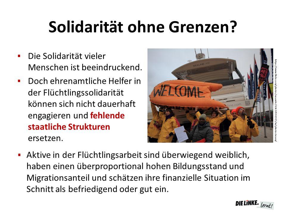 Solidarität ohne Grenzen