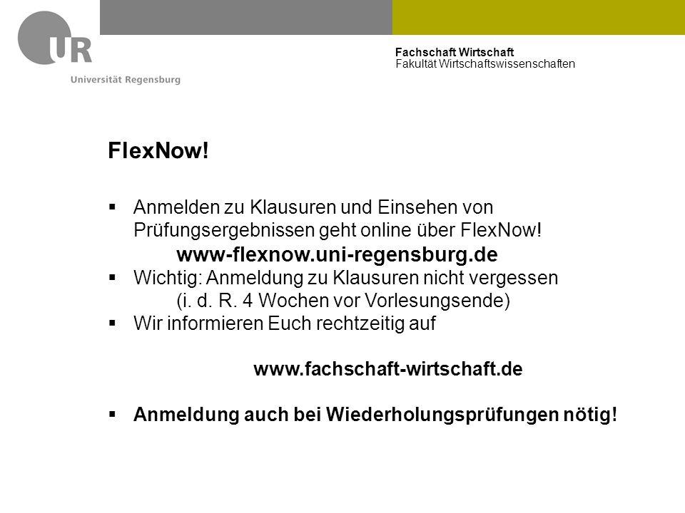 FlexNow! www-flexnow.uni-regensburg.de