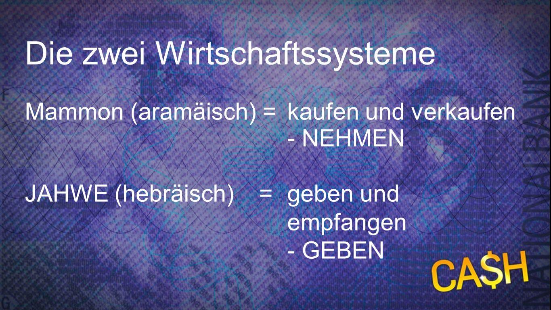 Zwei Wirtschaftssysteme
