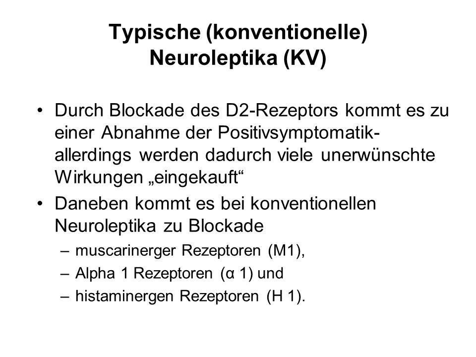 Typische (konventionelle) Neuroleptika (KV)
