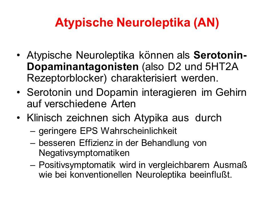 Atypische Neuroleptika (AN)