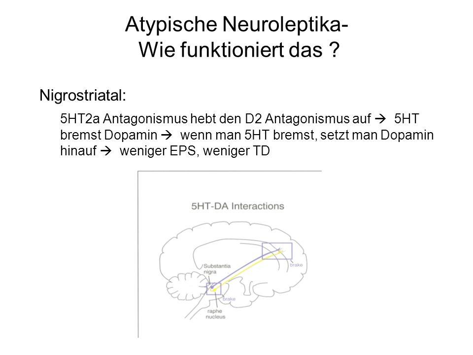 Atypische Neuroleptika- Wie funktioniert das