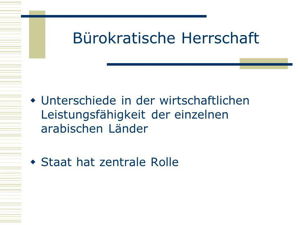 Bürokratische Herrschaft