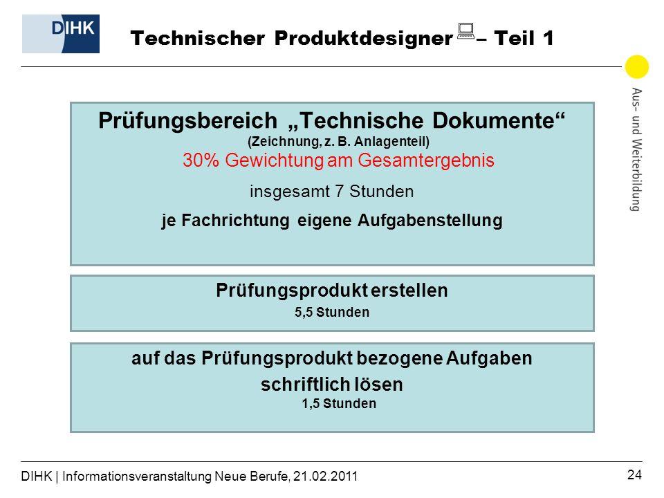 Technischer Produktdesigner – Teil 1