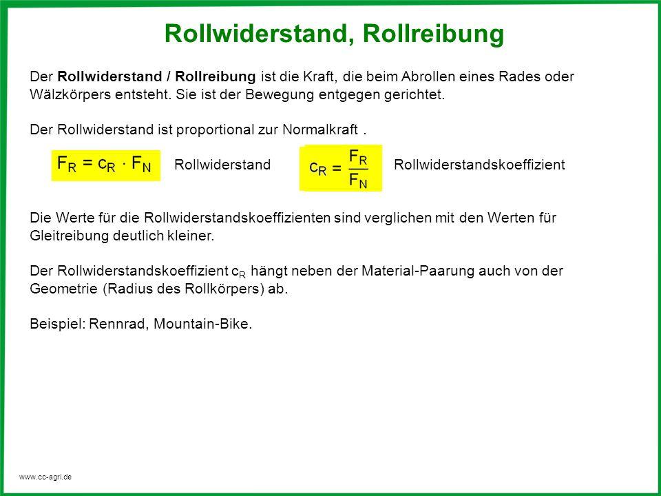 Rollwiderstand, Rollreibung