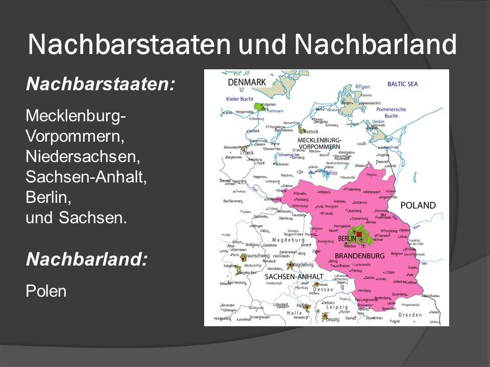 Nachbarstaaten und Nachbarland
