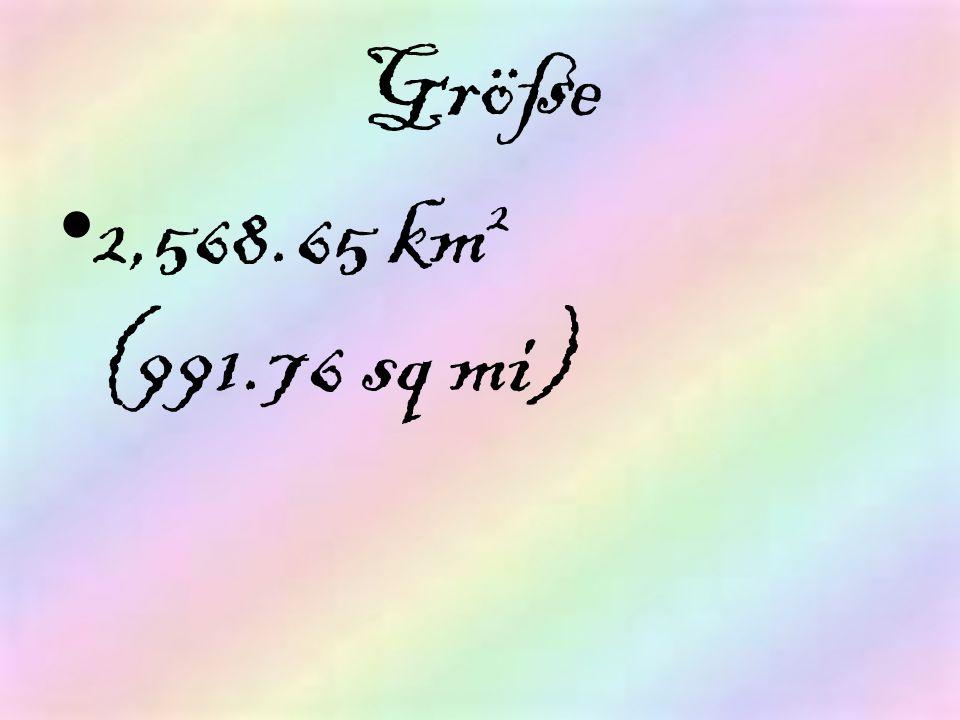 Größe 2,568.65 km2 (991.76 sq mi)