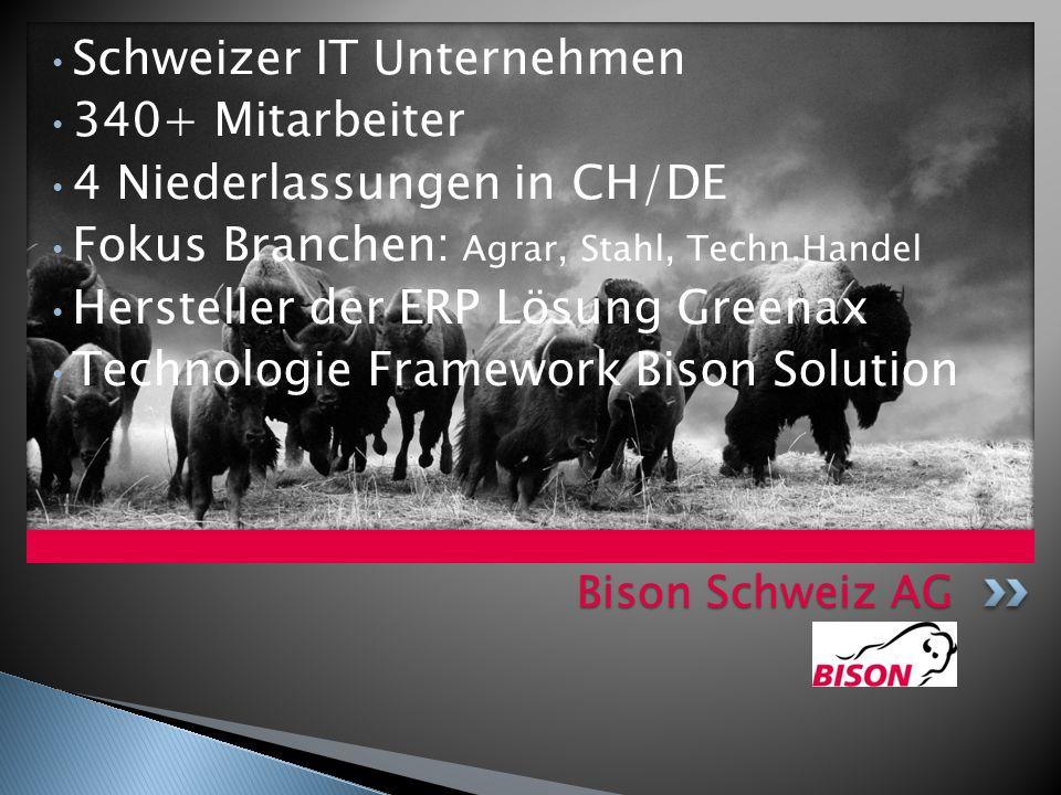 Schweizer IT Unternehmen 340+ Mitarbeiter 4 Niederlassungen in CH/DE