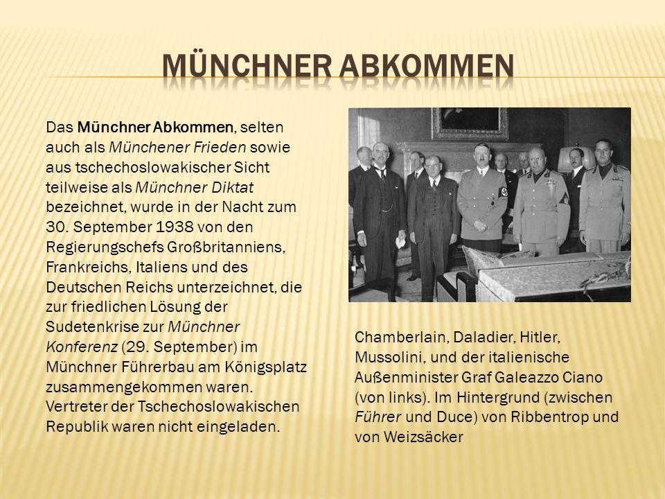 Münchner Abkommen