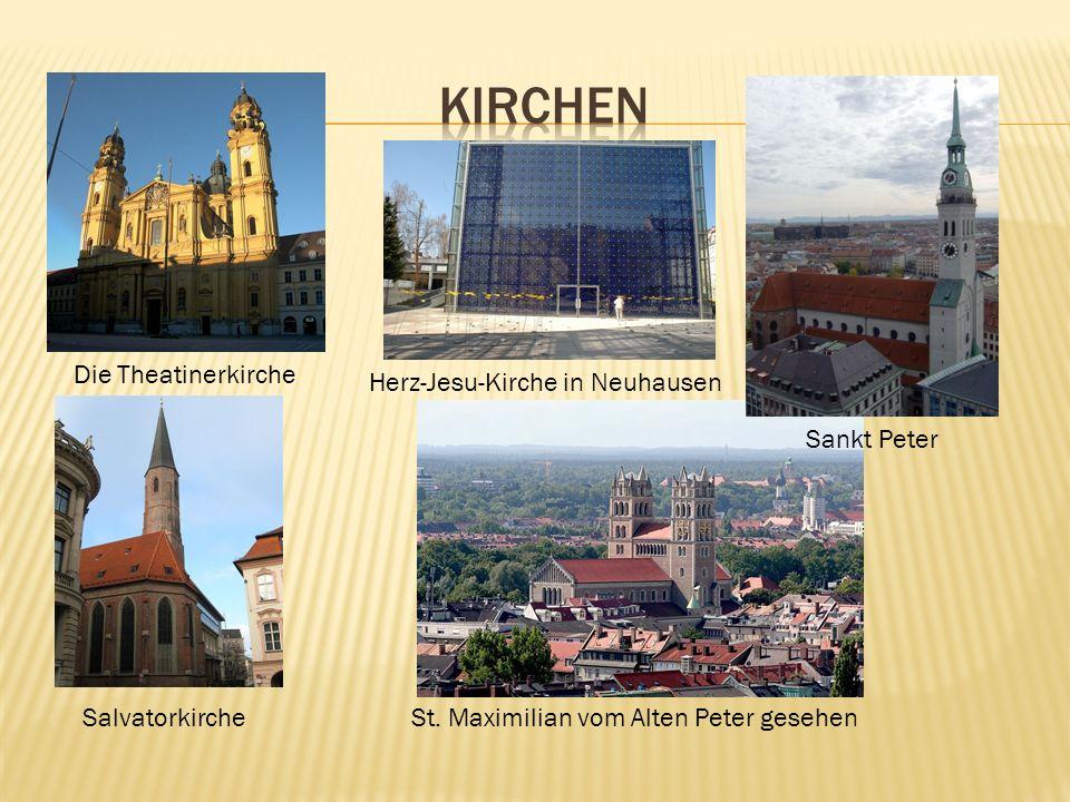 Kirchen Die Theatinerkirche Herz-Jesu-Kirche in Neuhausen Sankt Peter