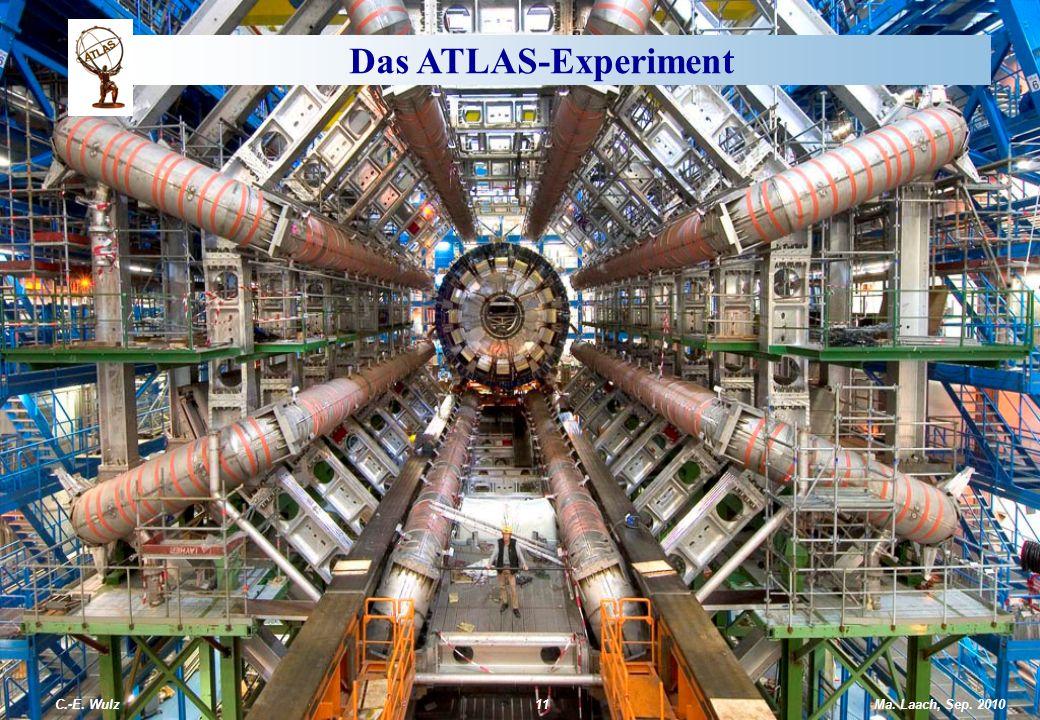 Das ATLAS-Experiment C.-E. Wulz Ma. Laach, Sep. 2010