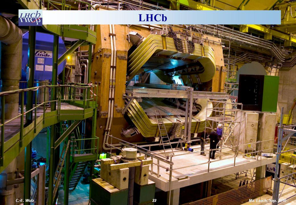 LHCb C.-E. Wulz Ma. Laach, Sep. 2010