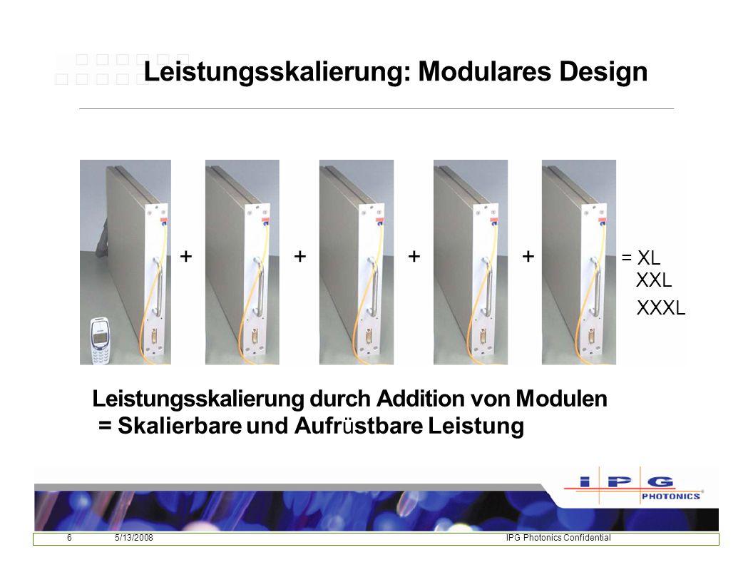 Leistungsskalierung: Modulares Design