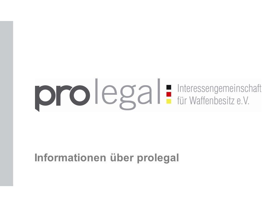 Informationen über prolegal