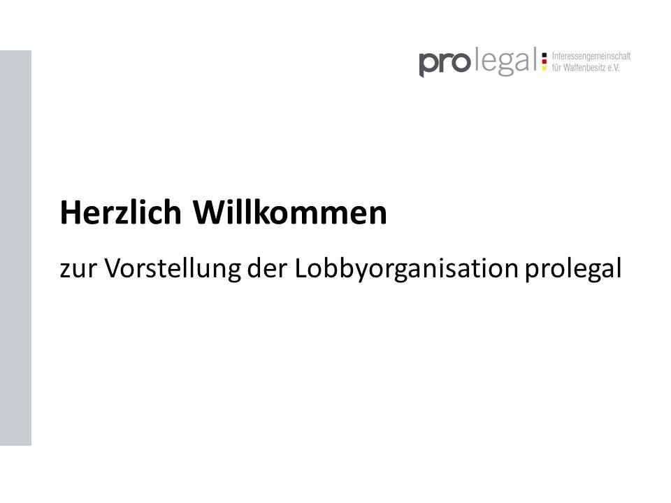 zur Vorstellung der Lobbyorganisation prolegal