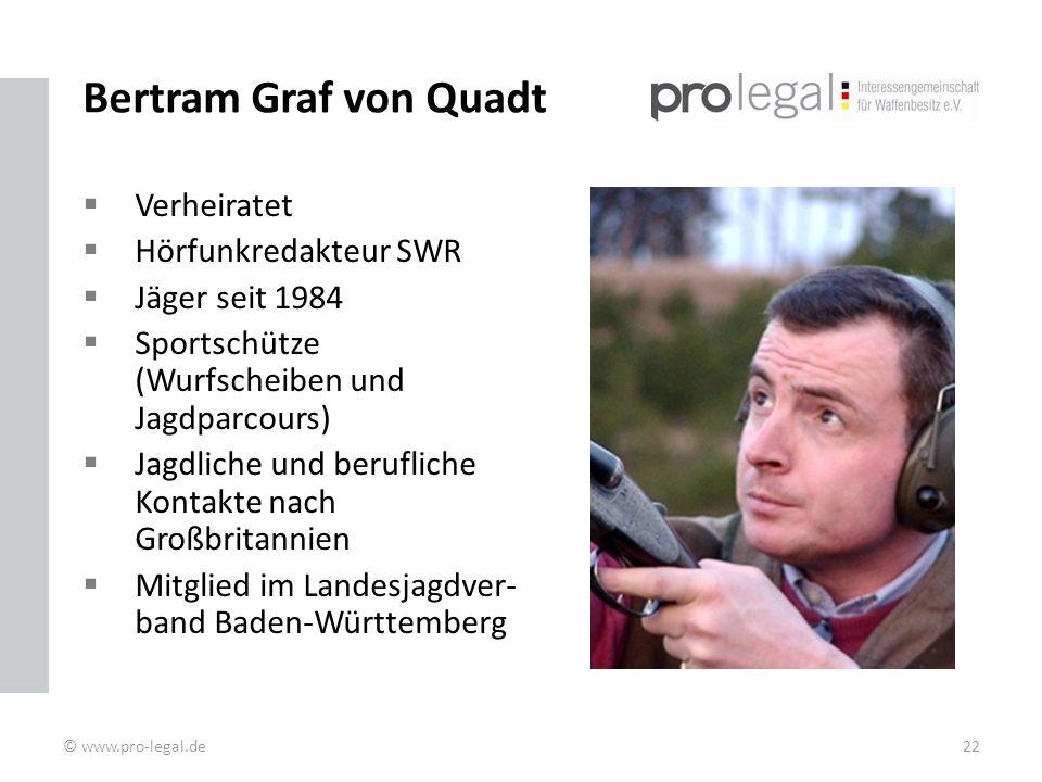 Bertram Graf von Quadt Verheiratet Hörfunkredakteur SWR