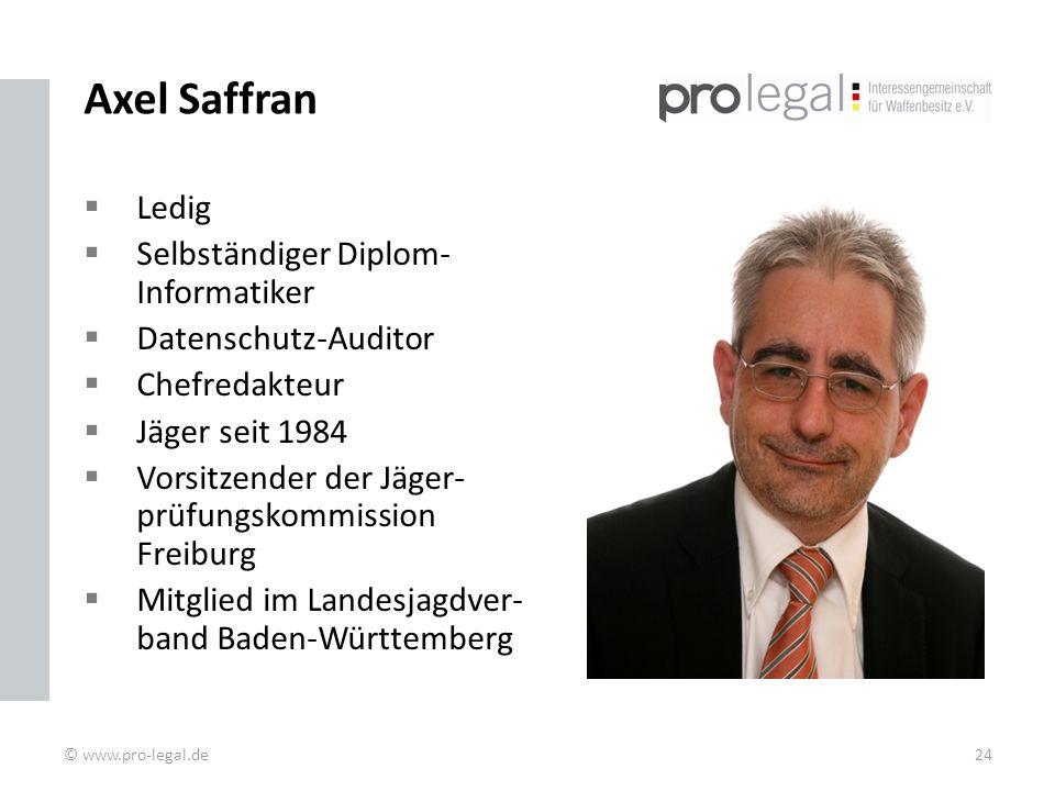 Axel Saffran Ledig Selbständiger Diplom-Informatiker