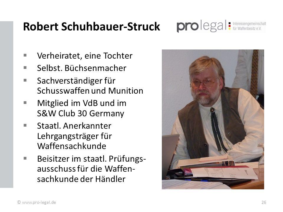 Robert Schuhbauer-Struck