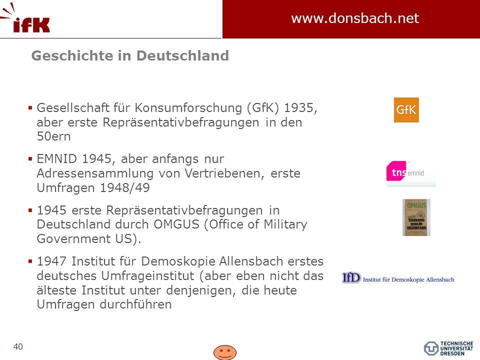 Geschichte in Deutschland