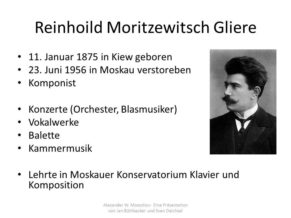 Reinhoild Moritzewitsch Gliere