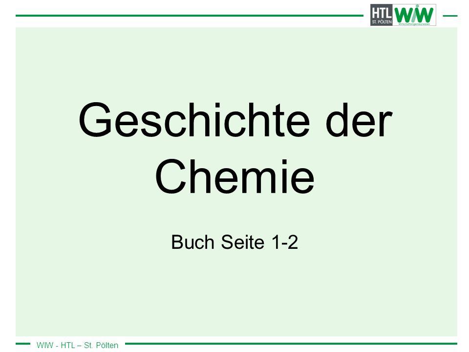 Geschichte der Chemie Buch Seite 1-2