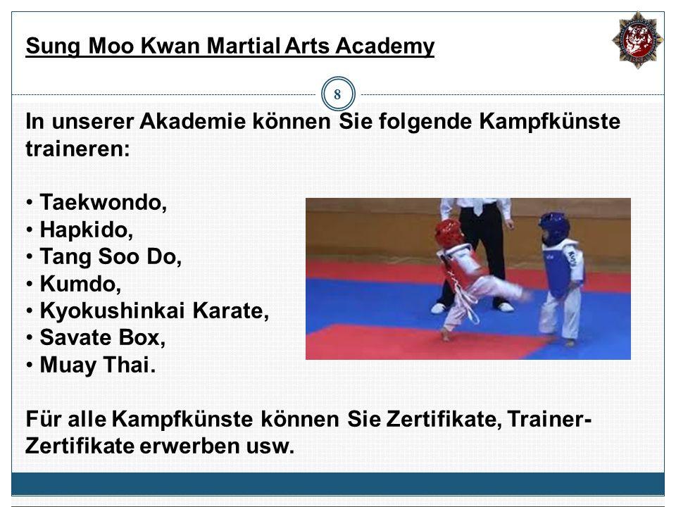 Sung Moo Kwan Martial Arts Academy