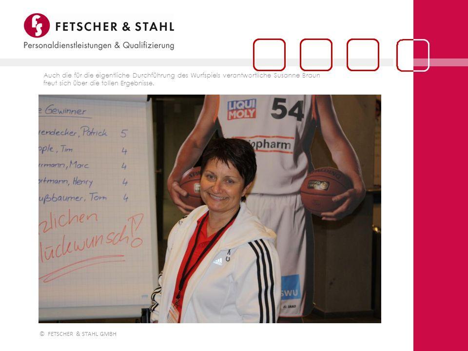 Auch die für die eigentliche Durchführung des Wurfspiels verantwortliche Susanne Braun freut sich über die tollen Ergebnisse.