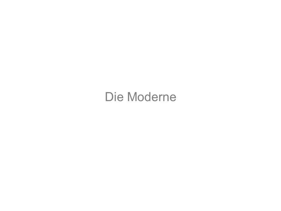 Die Moderne