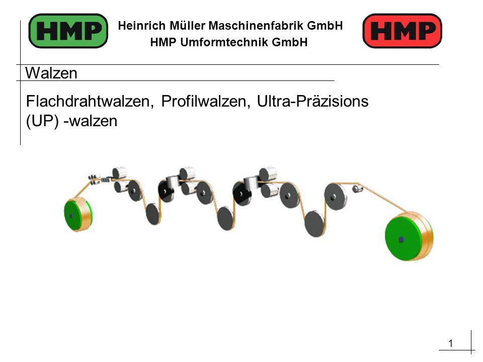 Walzen Flachdrahtwalzen, Profilwalzen, Ultra-Präzisions (UP) -walzen