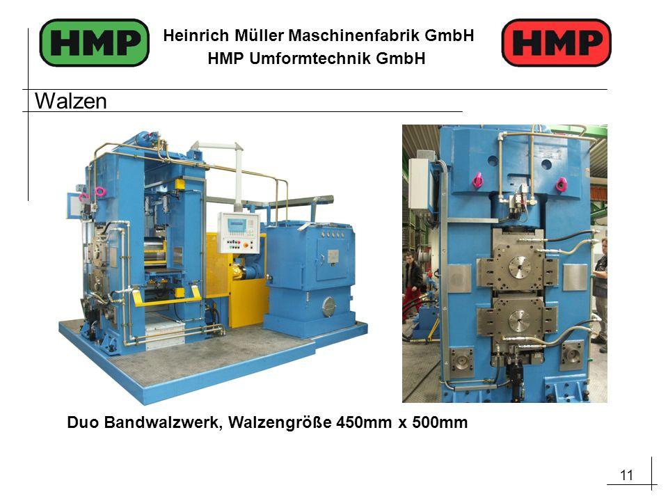 Walzen Duo Bandwalzwerk, Walzengröße 450mm x 500mm