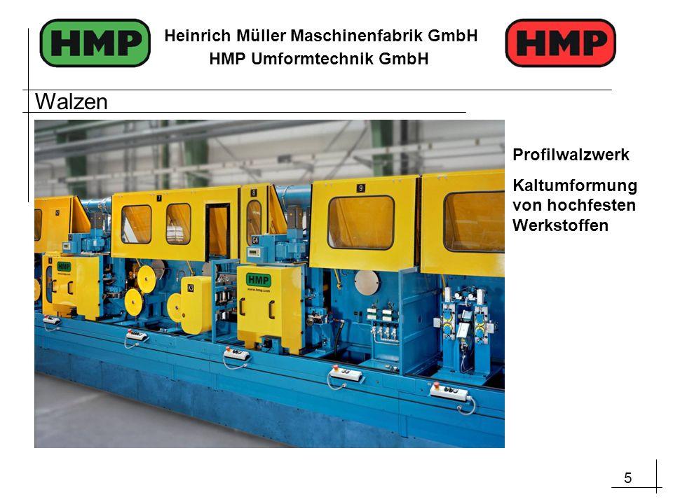 Walzen Profilwalzwerk Kaltumformung von hochfesten Werkstoffen
