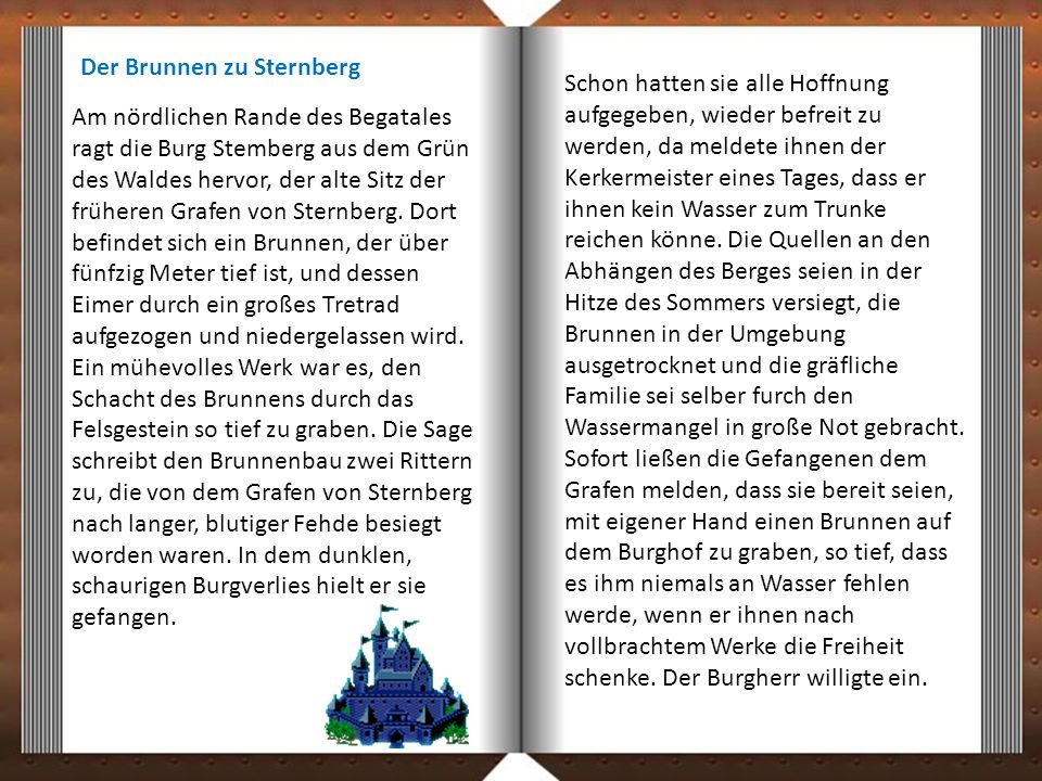 Der Brunnen zu Sternberg