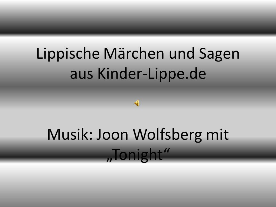 Lippische Märchen und Sagen aus Kinder-Lippe.de