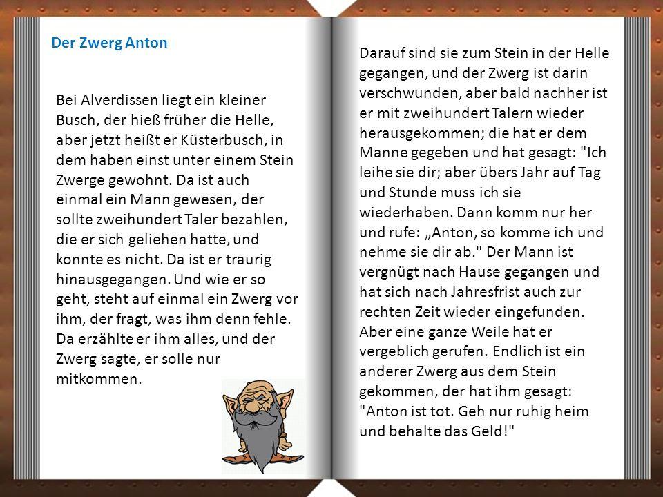 Der Zwerg Anton