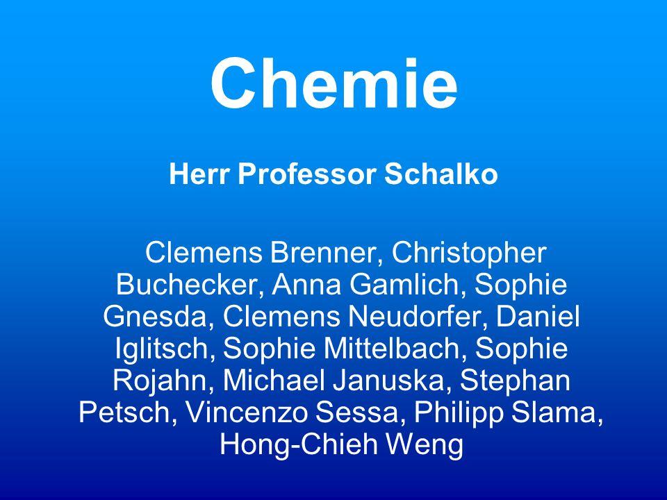 Herr Professor Schalko